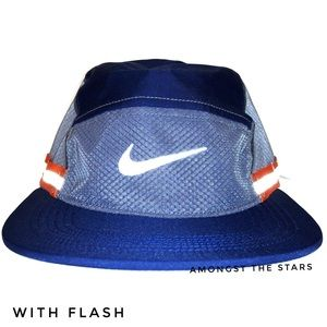 Nike NikeLab Ispa AW84 Blue Orange Reflective Cap